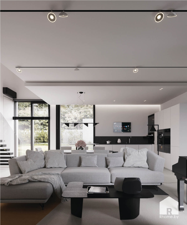 6 интерьер дизайн гостиной